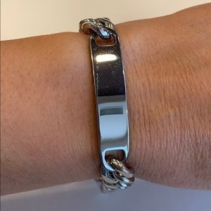 Other - 11mm Stainless Steel Cuban Chain ID Bracelet